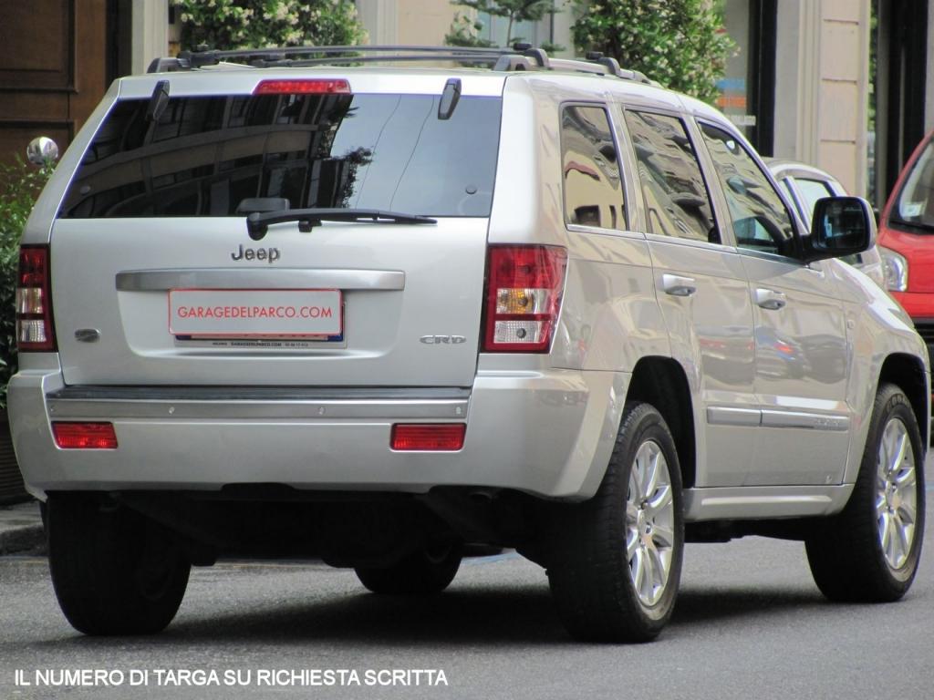 Schemi Elettrici Jeep Grand Cherokee : Jeep grand cherokee v crd overland automatica unico