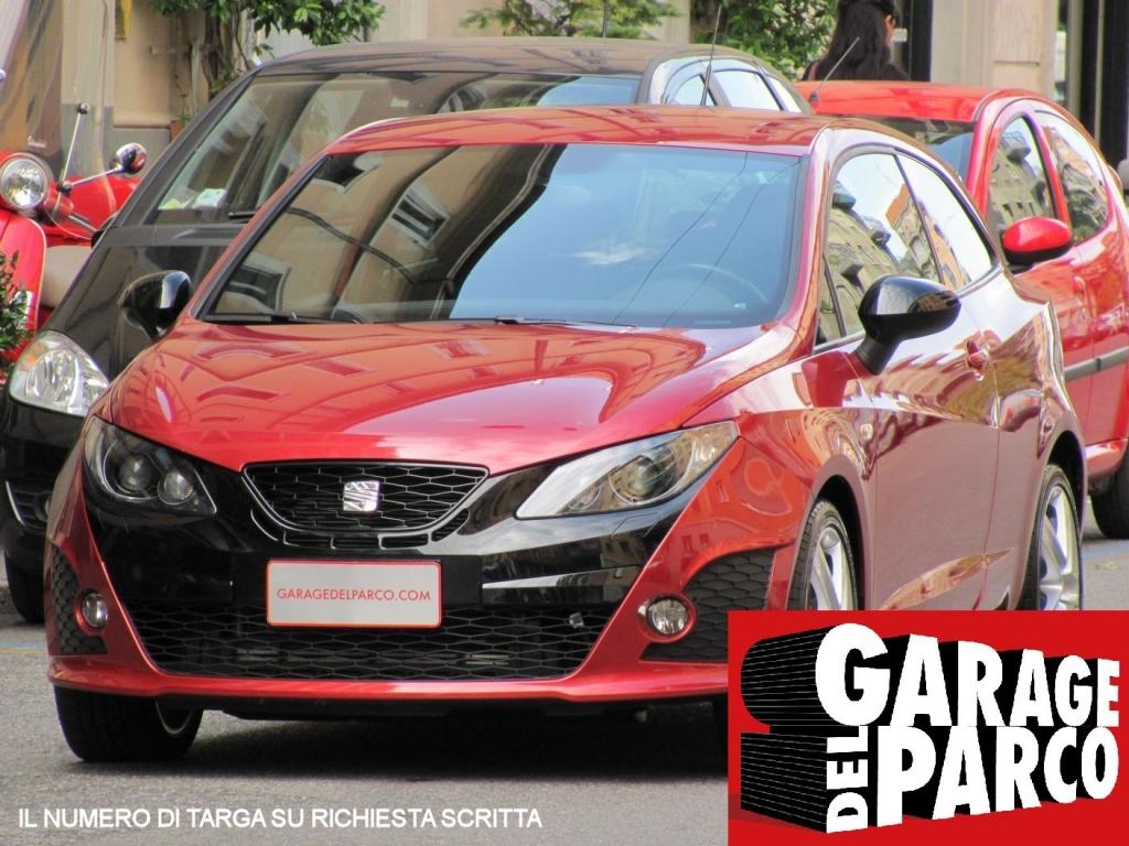 Seat ibiza 1 4 tsi cupra sc dsg bocanegra libro service e for Garage allo service auto sonnaz